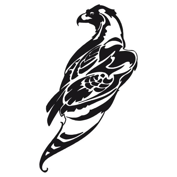 Sticker aigle