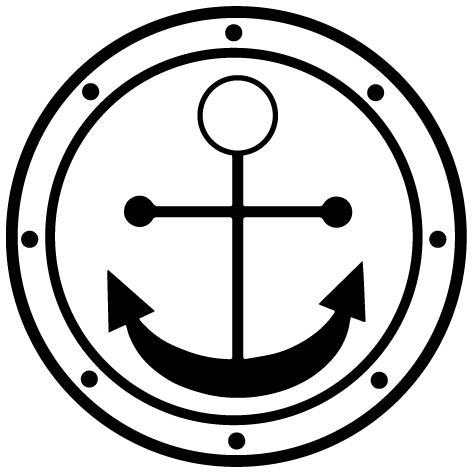 Sticker ancre marine-05