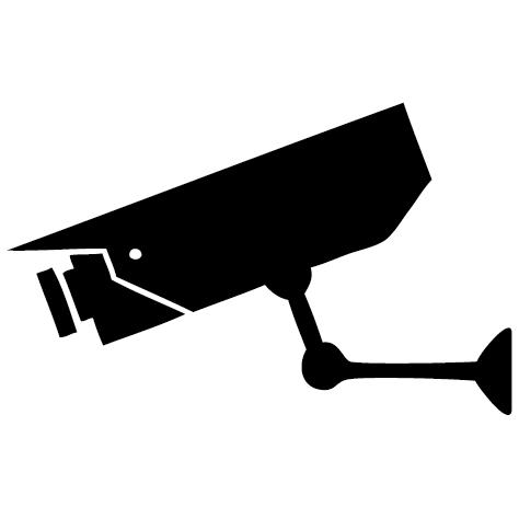 Sticker caméra