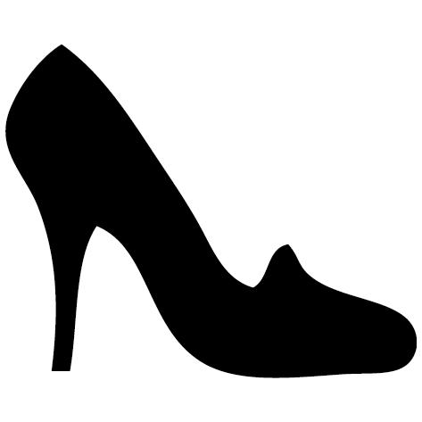 Sticker chaussures à talon