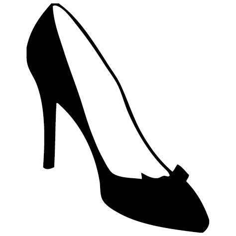 Sticker chaussure femme