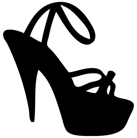Sticker chaussure d'été