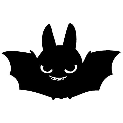 Sticker chauve souris - 01