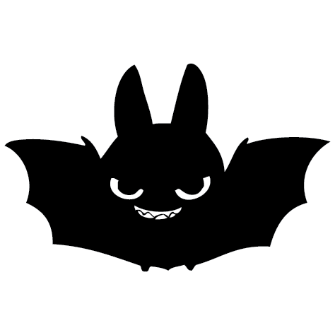 Achat Sticker chauve souris - 01