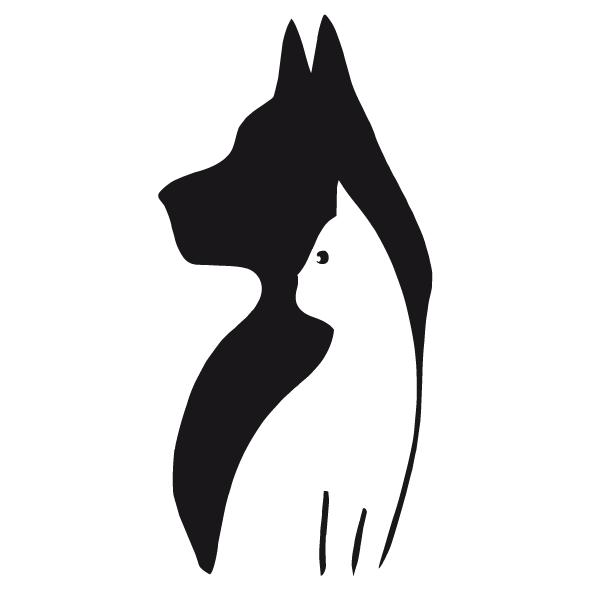 Achat Sticker chien et chat