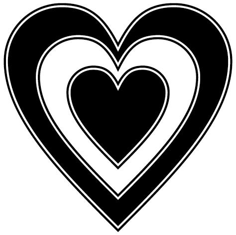 Sticker coeur : DECOMP02