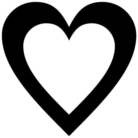 Sticker coeur : DECOMP03