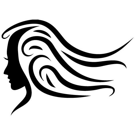stickers vitrine salon de coiffure ultra r sistant