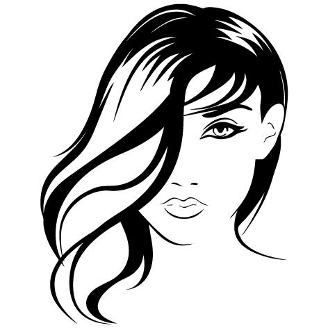 Sticker coiffure : SDC022