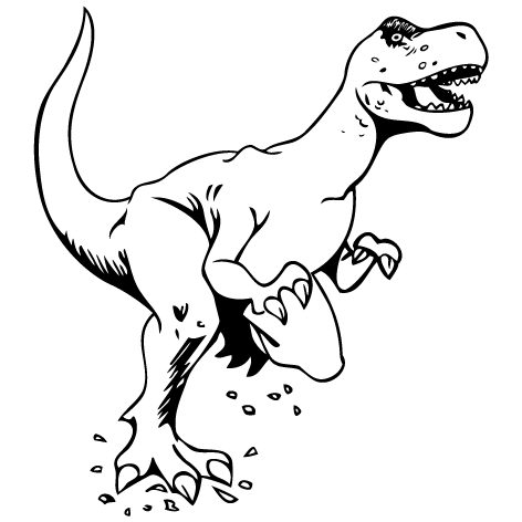 Sticker dinosaure : STD03
