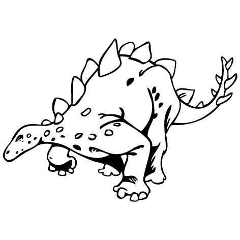 Sticker dinosaure : STD04