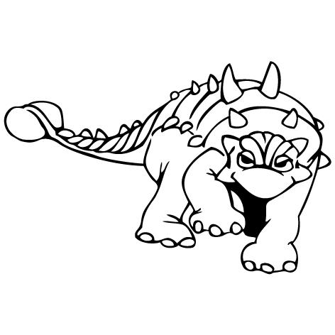 Sticker dinosaure : STD06
