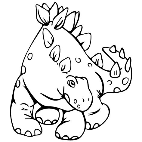 Sticker dinosaure : STD07