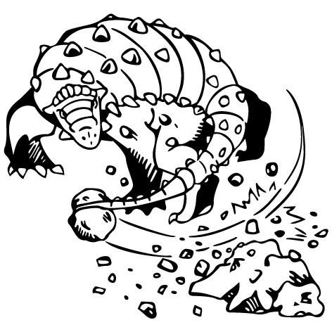 Sticker dinosaure : STD08
