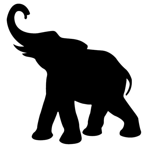 Sticker Éléphant - 2