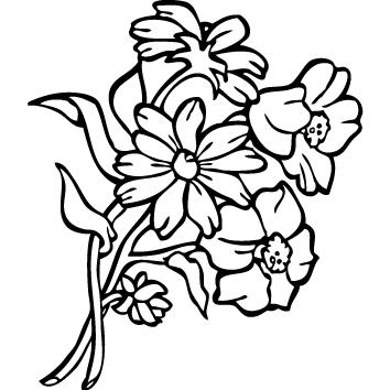 Achat Sticker Fleur : SFL02