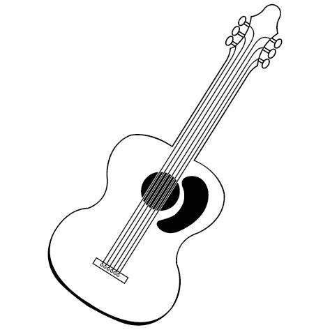 Achat Sticker guitare