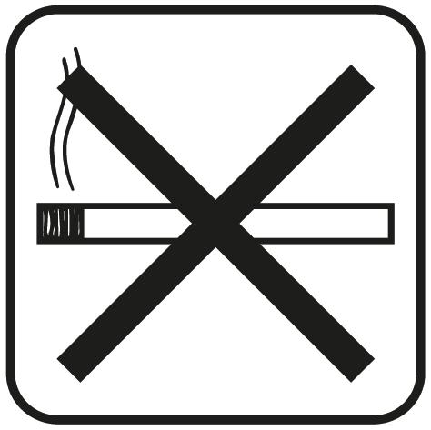 Sticker interdit de fumer