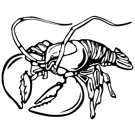 Sticker langouste : SP02