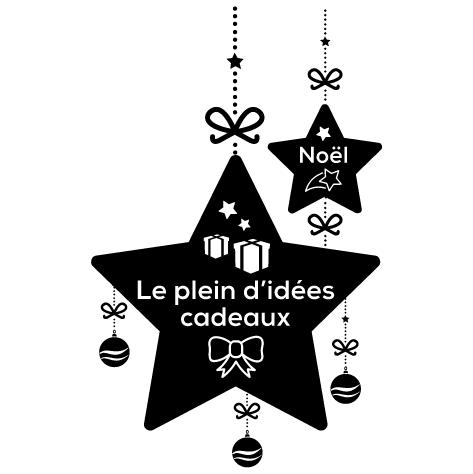 Sticker le plein d'idées cadeaux