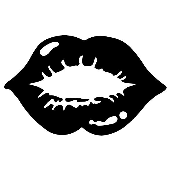 Sticker lèvre : 01