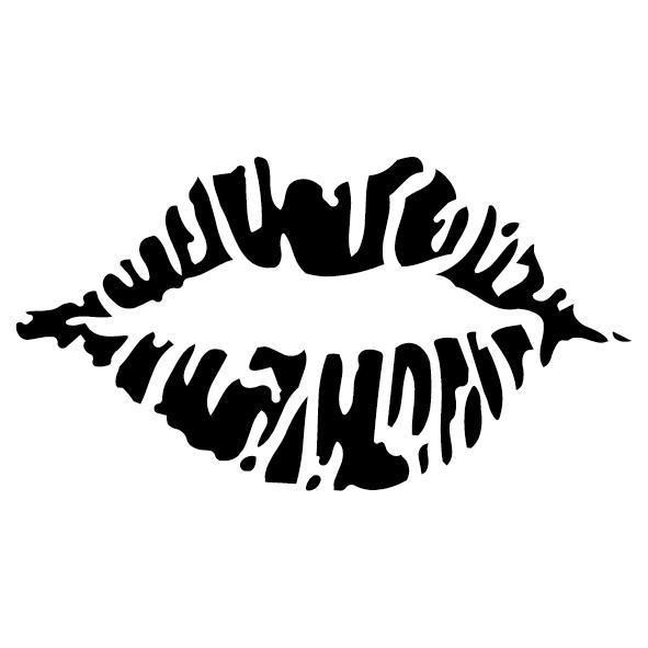 Sticker lèvre : 02