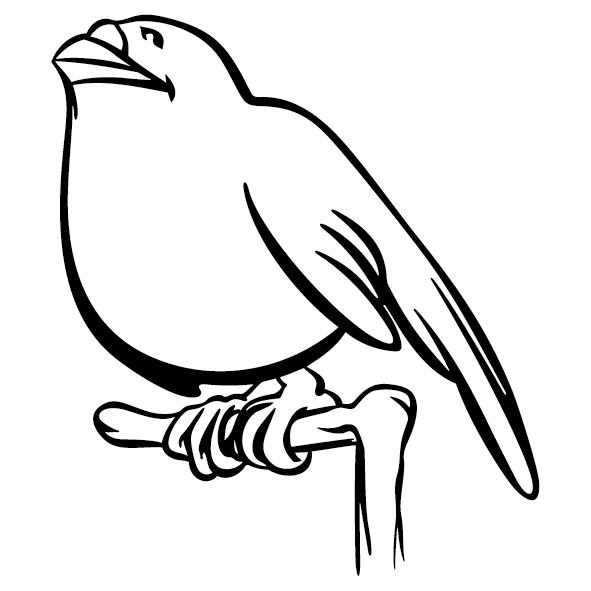Sticker oiseau