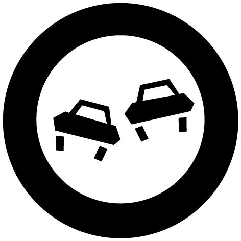 Achat Sticker panneau : STP01
