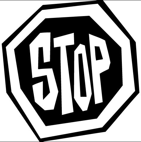 Sticker panneau : STP06
