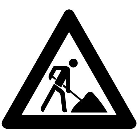 Sticker panneau : STP08