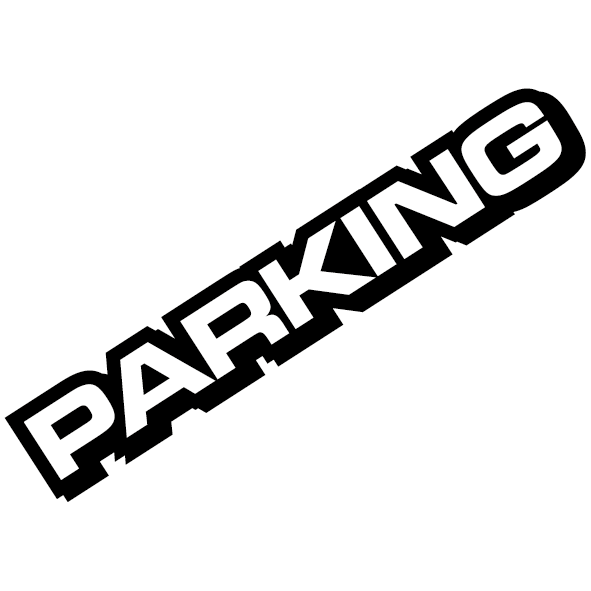 Sticker parking