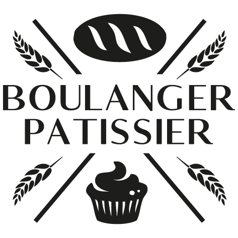 Achat Sticker pâtissier boulanger