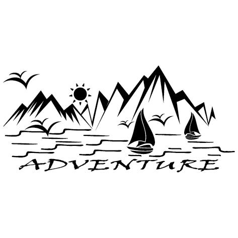 Achat Sticker paysage (Droite) SCC48