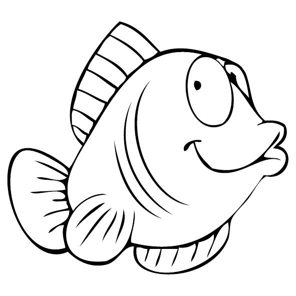 Sticker poisson lune