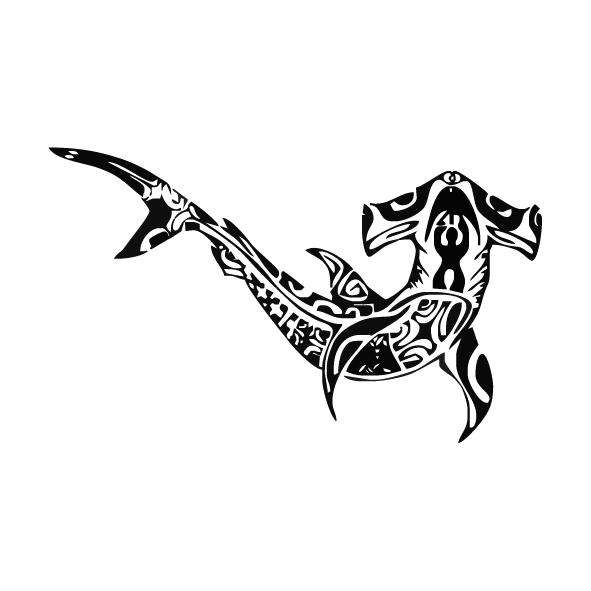 Achat Sticker requin marteau