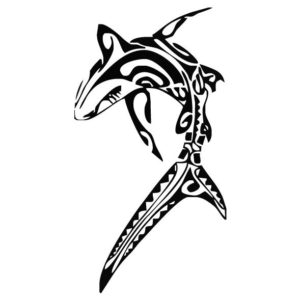 Achat Sticker requin