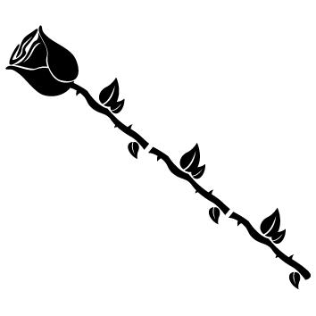 Sticker rose : SFL07