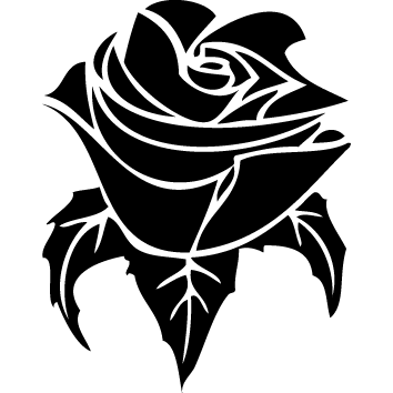 Sticker rose : SFL08