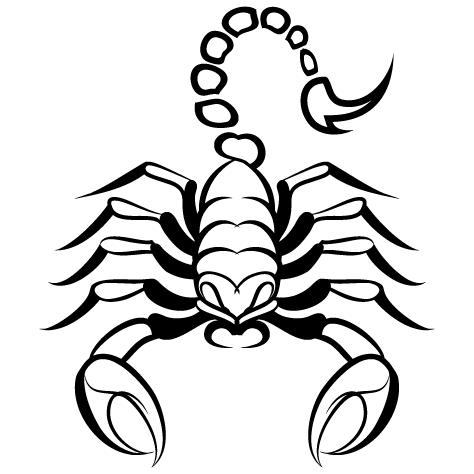 Sticker scorpion : 03