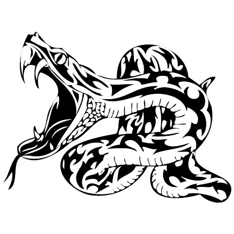 Achat stickers serpent
