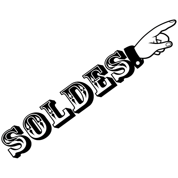 Sticker soldes - 01