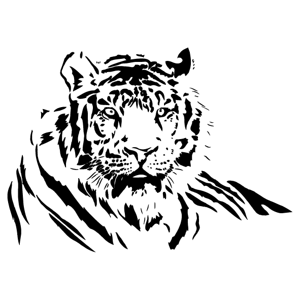 Sticker Tigre