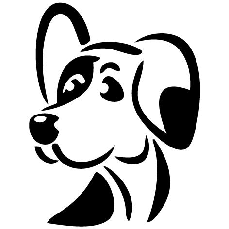 Achat Sticker toilettage canin : 01