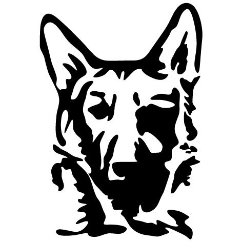 Sticker toilettage canin : 06