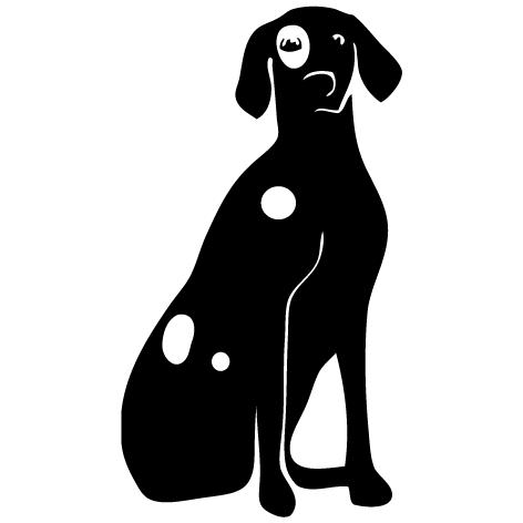 Achat Sticker toilettage canin : 08