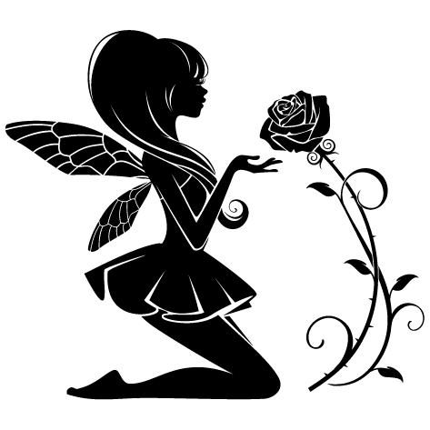 Sticker Fée Clochette