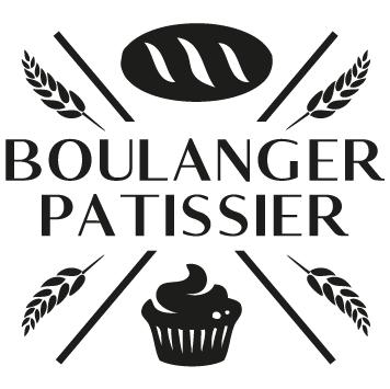 Sticker pâtissier boulanger