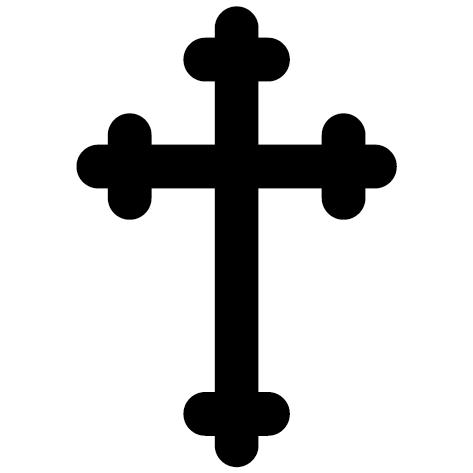 Symbole croix chrétienne