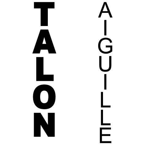 TALON 15X85CM AIGUILLE 9X89CM