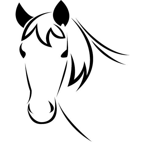 Tête buste de cheval